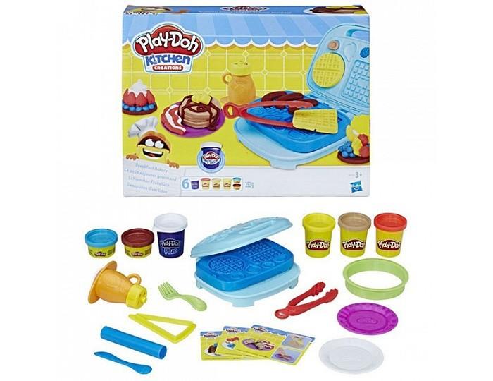 Всё для лепки Play-Doh Игровой набор Сладкий завтрак play doh игровой набор для выпечки