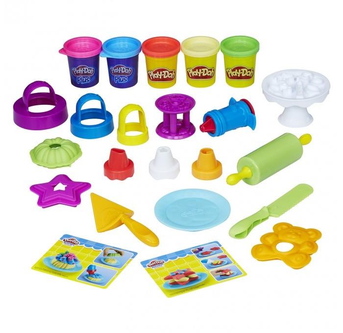 Всё для лепки Play-Doh Игровой набор для выпечки play doh игровой набор праздничный торт
