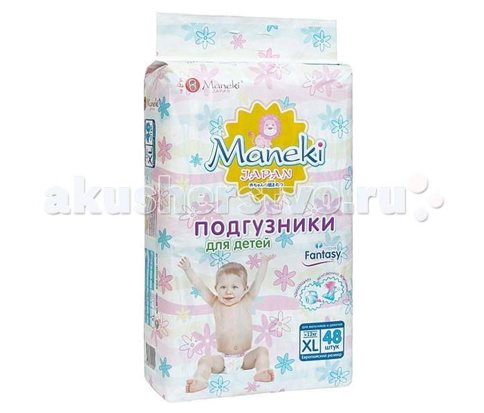 Maneki Подгузники Fantasy XL (12+ кг) 48 шт.