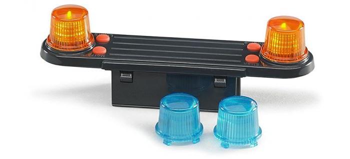 Машины Bruder Аксессуары H: модуль со световыми и звуковыми эффектами для автомобилей