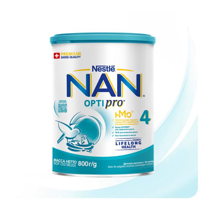 Детское питание , Молочные смеси NAN Детское молочко Премиум 4 с 18 мес 800 г арт: 40069 -  Молочные смеси