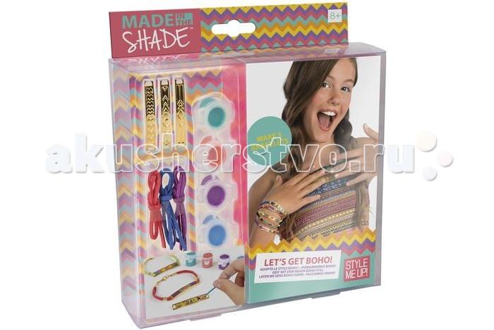 Наборы для творчества Style Me Up Набор для создания браслетов Бохо набор для творчества creative creative набор для создания браслетов браслеты арт деко