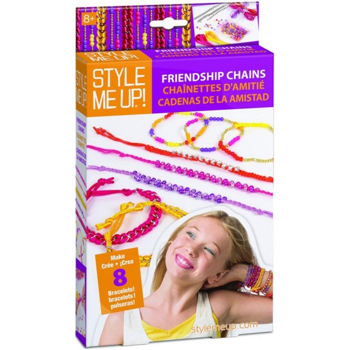 Наборы для творчества Style Me Up Набор Браслеты дружбы наборы для творчества style me up набор модные браслеты