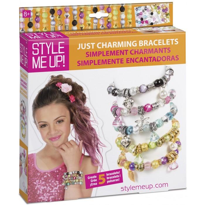Наборы для творчества Style Me Up Набор Браслеты с шармами-подвесками 5 шт наборы для творчества style me up набор модные браслеты