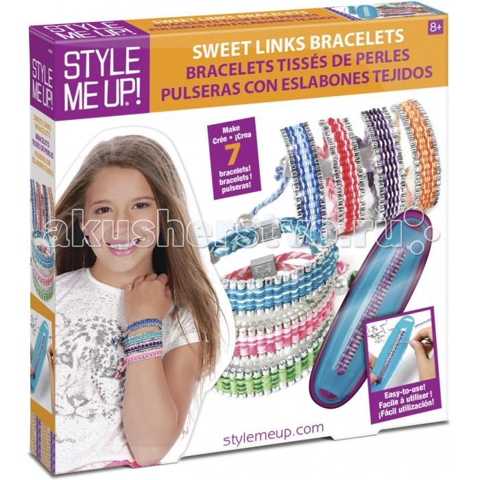 Творчество и хобби , Наборы для творчества Style Me Up Набор для создания браслетов Красивые звенья арт: 400854 -  Наборы для творчества
