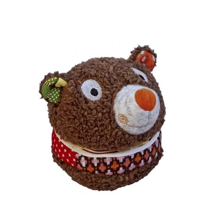 Мягкие игрушки Ebulobo Мячик-шкатулка Мишка деревянные игрушки ebulobo кубики мишка