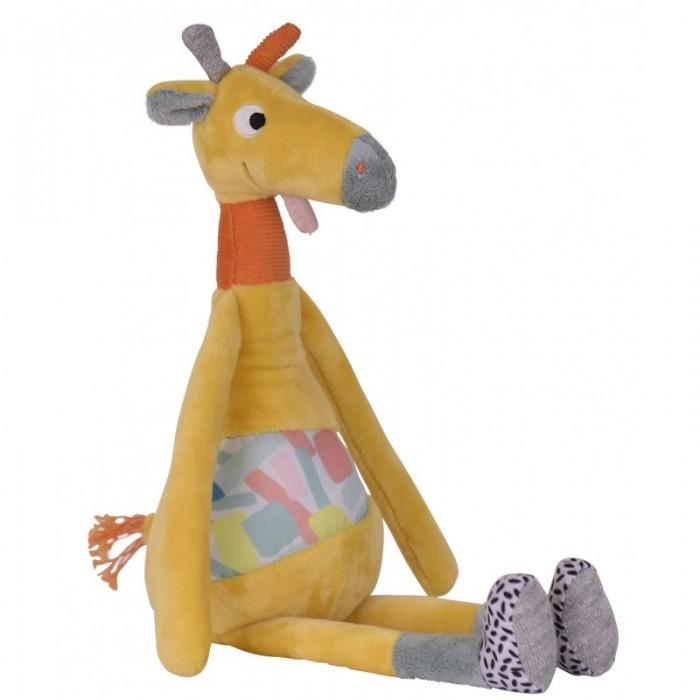 Мягкие игрушки Ebulobo Малыш Жирафа развивающие игрушки ebulobo слонёнок зигги и его друзья