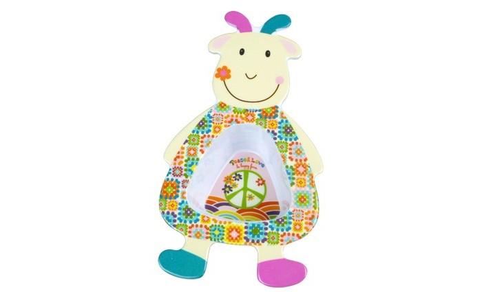 Посуда Ebulobo Мисочка Козочка Жужу ebulobo музыкальная игрушка козочка жужу с рождения
