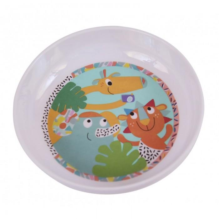 Посуда Ebulobo Мисочка Зоопарк ebulobo ложечка зоопарк