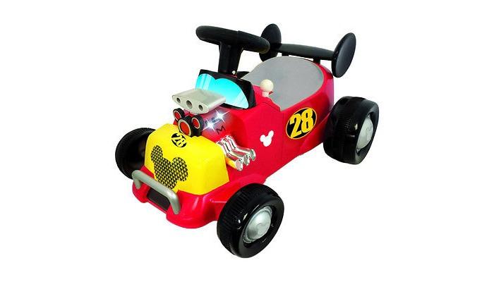 Детский транспорт , Каталки Kiddieland Пушкар Спортивная машина Микки Мауса арт: 401439 -  Каталки