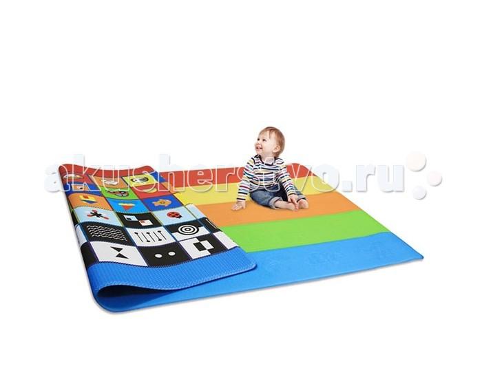Игровые коврики Dwinguler Sense PlayMat 230x140x1.5 см chicco коврик развивающий jungle playmat