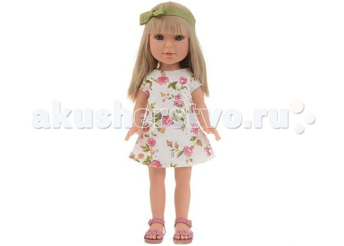 Куклы и одежда для кукол Vestida de Azul Паулина блондинка с челкой Лето 33 см