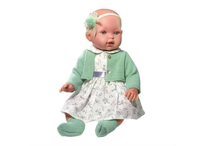Купить Куклы и одежда для кукол, Vestida de Azul Марина-инфанта в оливковом туалете мягконабивная 45 см