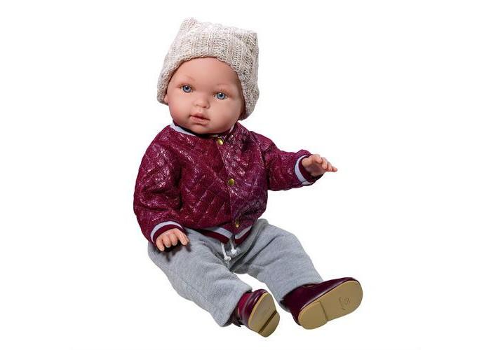 Купить Куклы и одежда для кукол, Vestida de Azul Тонино-городской модник в бомбере 42 см