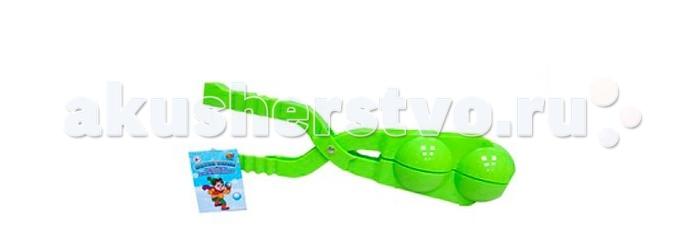 Игрушки для зимы ABtoys Форма двойная для лепки снежков