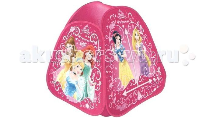 Палатки-домики Играем вместе Принцессы, в сумке играем вместе игрушка пластм набор посуды принцессы дисней 14 предметов играем вместе