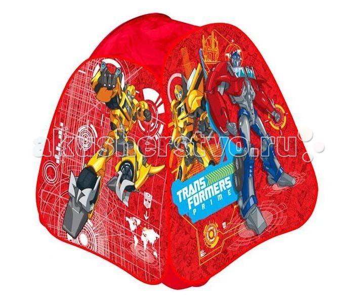 Играем вместе Игровая палатка Transformers в сумке