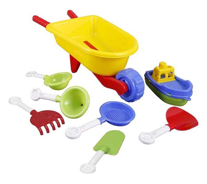 Игрушки для зимы Pilsan Песочный набор pilsan песочный набор 5 изделий в тачке
