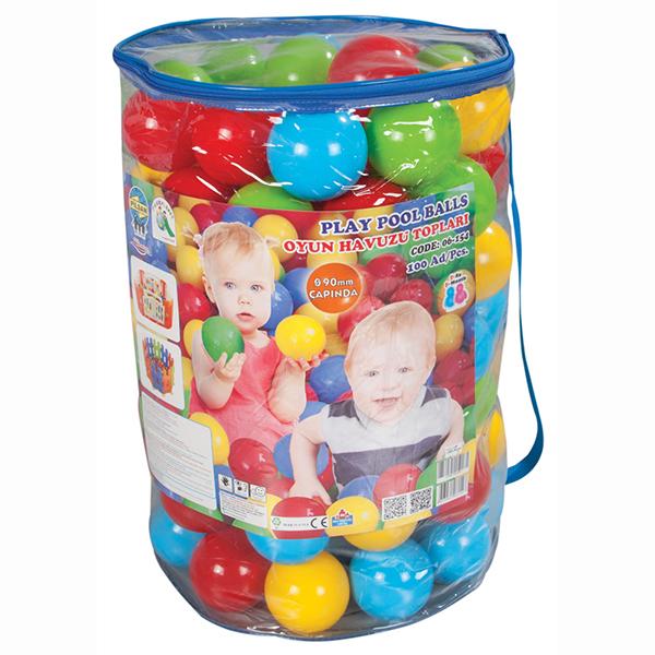 Pilsan Шары в сухой бассейн 90 мм 100 шт.Шары в сухой бассейн 90 мм 100 шт.Шары в сухой бассейн Pilsan 90мм (100 шт) - подойдут для наполнения надувных бассейнов, игровых домиков и детских манежей.   В набор входит 100 разноцветных ярких шариков, выполненных из высококачественного пластика.   С этими шариками можно играть и в бассейне с водой.   Кроме того, они помогут изучить формы, цвета, свойства предметов.<br>