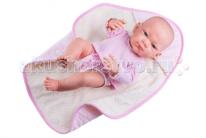 Купить Куклы и одежда для кукол, Paola Reina Кукла Бэби в розовом 36 см