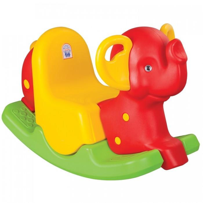 Качалка Pilsan СлонСлонДетская качалка Pilsan Слон - очаровательная качалка для Вашего малыша, стимулирует и развивает вестибулярный аппарат, ловкость и координацию движений.   Качалка имеет удобные для маленького ребенка ручки, и рассчитана на максимально безопасный диапазон качания.   Предназначена и для дома, и для улицы.   Игрушка выполнена из прочного экологически чистого пластика с соблюдением самых высоких стандартов безопасности.   Размеры (ШхДхВ): 33 х 70 х 53 см. Грузоподъемность: 25 кг.  Цвета в ассортименте.  Компания Pilsan начала свою историю в 1942 году. Сегодня – это компания-гигант индустрии крупногабаритных детских игрушек, которая экспортирует свою продукцию в 57 стран мира. Компанией выпускается 146 наименований продукции – аккумуляторные и педальные автомобили, велосипеды, развивающие игрушки и аксессуары для детей. Вся продукция Pilsan сертифицирована и отвечает международным стандартам качества.<br>