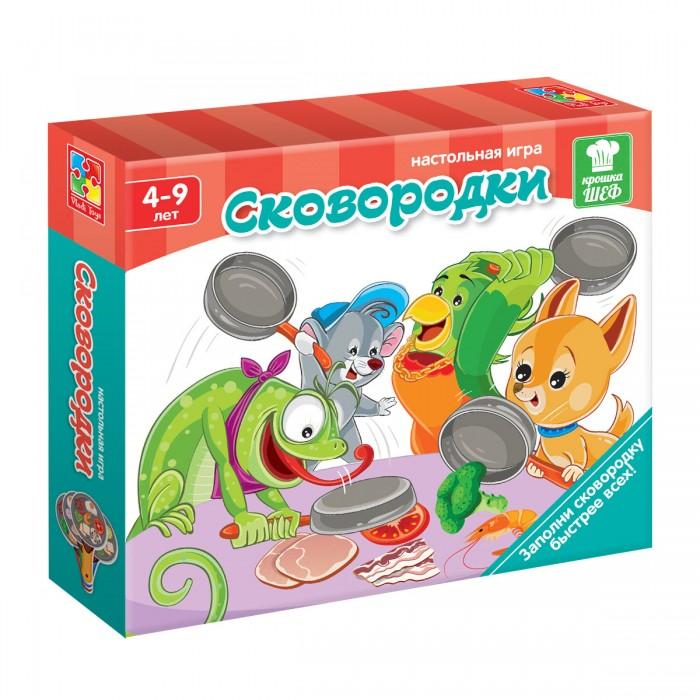Настольные игры Vladi toys Игра на скорость Сковородки настольные игры vladi toys игра на скорость сковородки