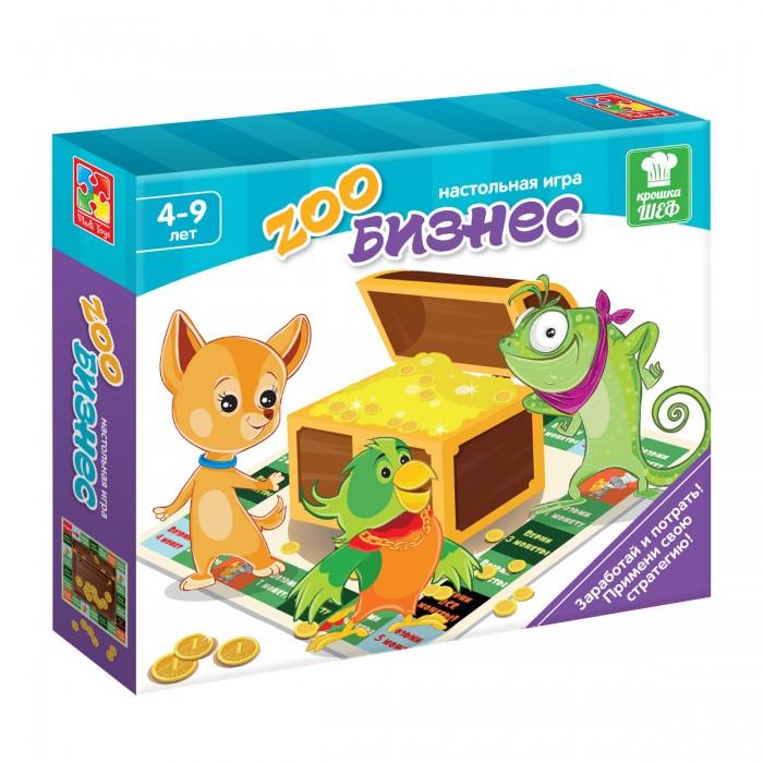 Настольные игры Vladi toys Игра-стратегия Зообизнес vladi toys обучающая игра больше чем календарь для малыша