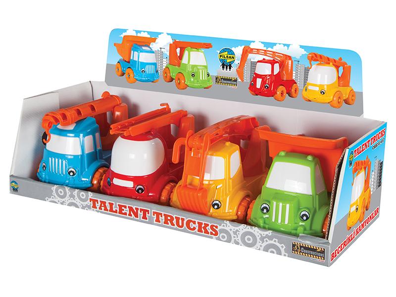 Машины Pilsan Машинка Спецтехника аксессуары для детей