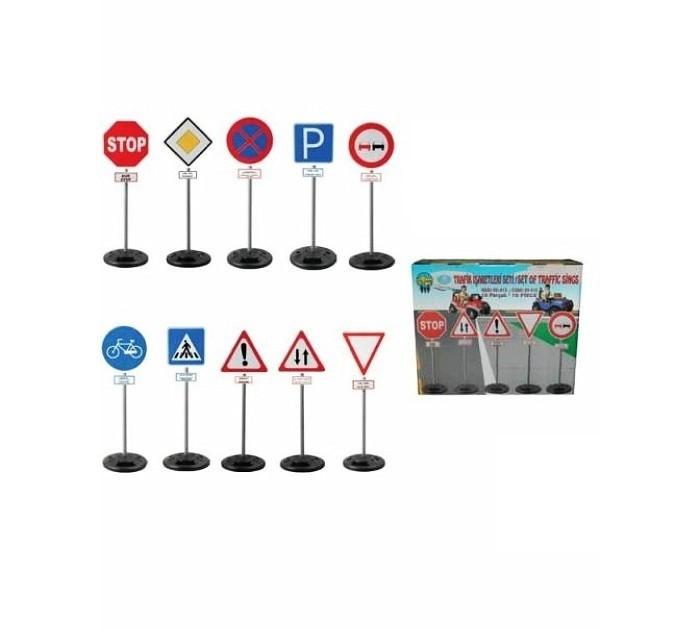 Ролевые игры Pilsan Дорожные знаки мини фигурки игрушки лэм дорожные знаки