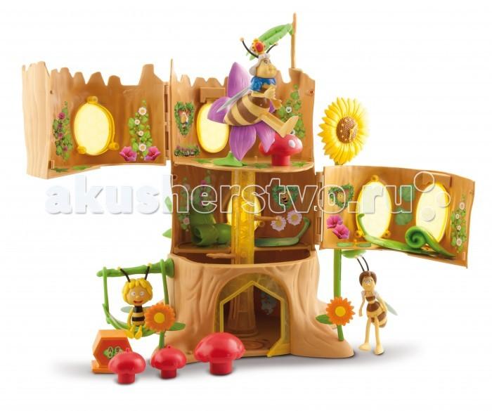 IMC toys Набор Пчелка МайяНабор Пчелка МайяIMC toys Набор Пчелка Майя - замечательный набор, который станет отличным подарком для любого ребенка. Фигурки выполнены в виде персонажей известного мультсериала Пчелка Майя.  В комплект входит: три фигурки, удивительное жилище пчелки и аксессуары для интересной игры.<br>