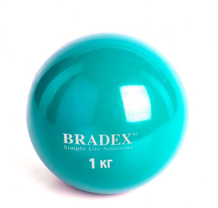 Купить Bradex Медбол 1 кг в интернет магазине. Цены, фото, описания, характеристики, отзывы, обзоры