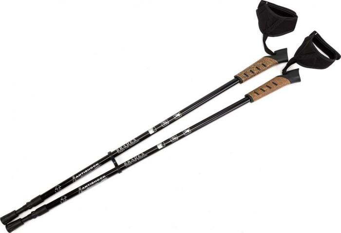 Спортивный инвентарь Bradex Палки карбоновые телескопические для скандинавской ходьбы Нормик Стайл Про наколенник магнитный bradex здоровые суставы