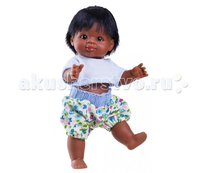 Куклы и одежда для кукол Paola Reina Кукла-пупс Иван 21 см мулат paola reina кукла лидия 60 см paola reina