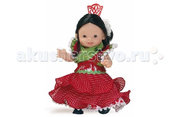 Куклы и одежда для кукол Paola Reina Кукла-пупс 21 см девочка 00602 куклы и одежда для кукол весна озвученная кукла саша 1 42 см