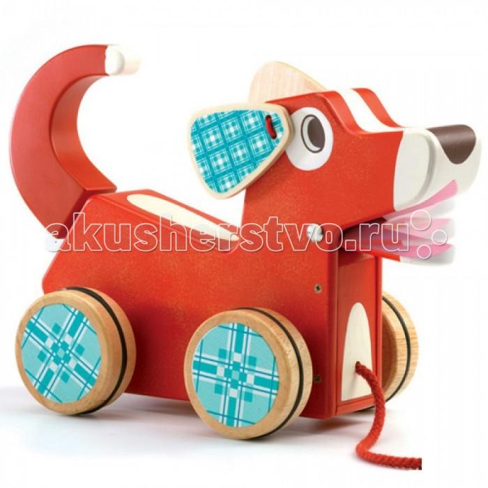 игры и игрушки для детской Каталки-игрушки Djeco Собака