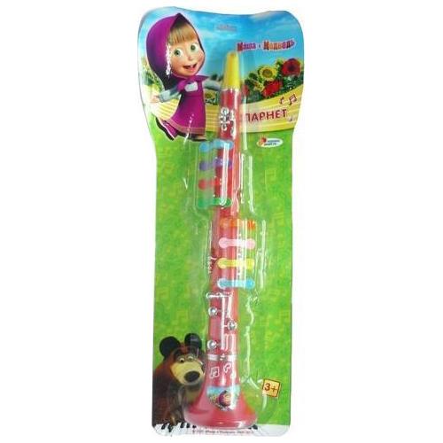 Музыкальные игрушки Играем вместе Кларнет Маша и медведь игрушки для ванной играем вместе набор для купания маша и медведь