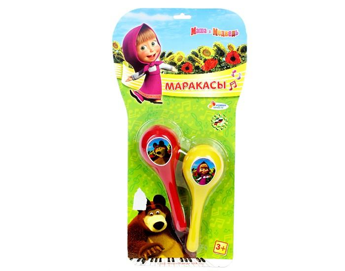 Музыкальные игрушки Играем вместе Маракасы Маша и медведь