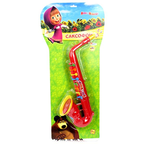 где купить Музыкальные игрушки Играем вместе Саксофон Маша и медведь дешево