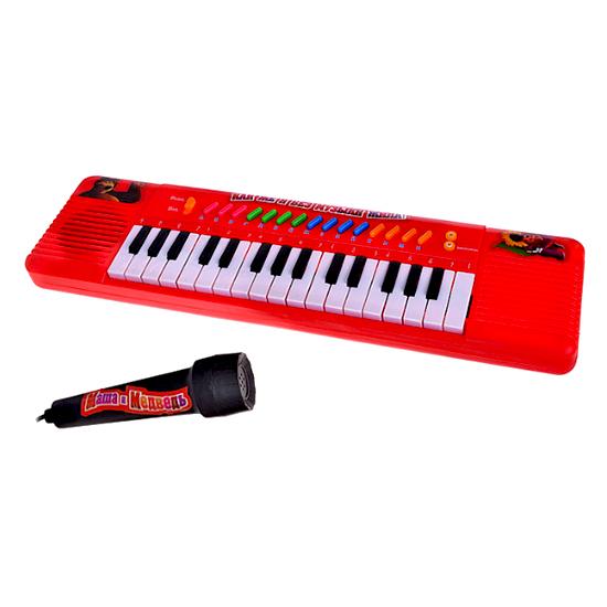 Музыкальные игрушки Играем вместе Электроорган Маша и медведь с микрофоном игрушки для ванной играем вместе набор для купания маша и медведь