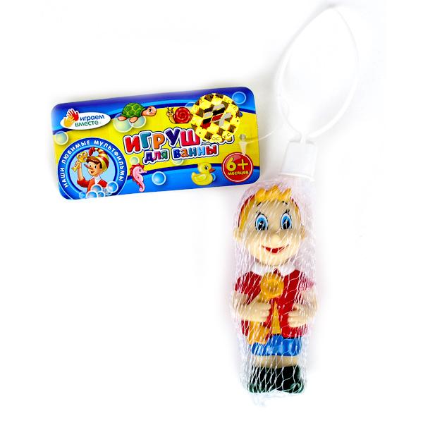 Игрушки для ванны Играем вместе Игрушка для ванной Буратино игрушки для ванны сказка игрушка для купания транспорт