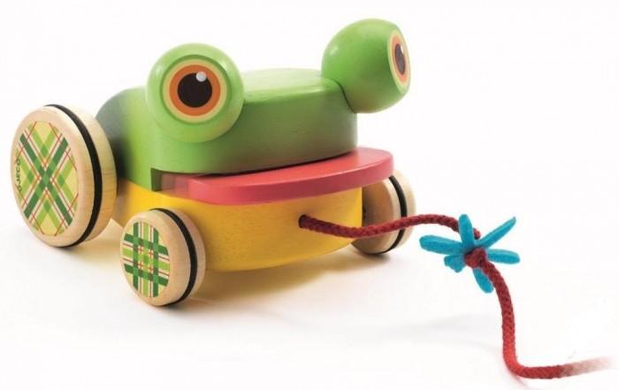 игры и игрушки для детской Каталки-игрушки Djeco Лягушка 06252