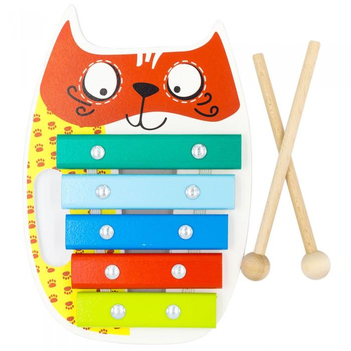 где купить Музыкальные игрушки Alatoys Ксилофон Кот по лучшей цене