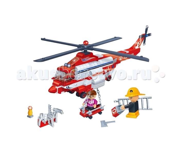 Конструктор BanBao Вертолет пожарный