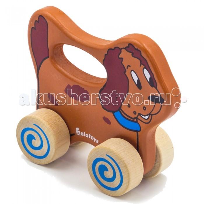 Каталки-игрушки Alatoys Собачка
