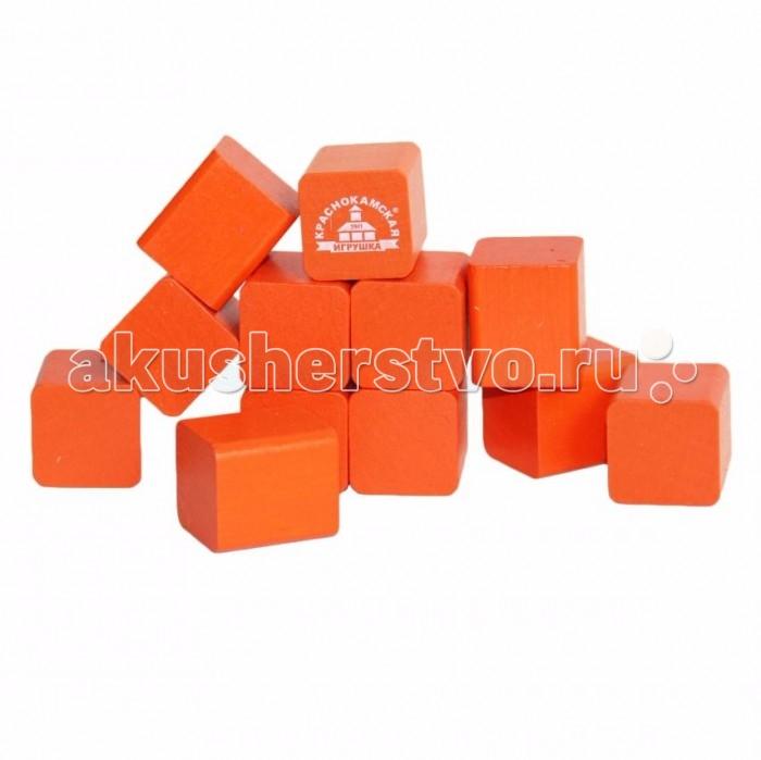 Игры для малышей Краснокамская игрушка Обучающий набор Счетный материал Кубики краснокамская игрушка развивающая пирамидка кольцевая
