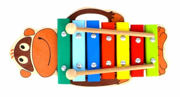 где купить Музыкальные игрушки Alatoys Ксилофон Обезьяна 7 нот по лучшей цене