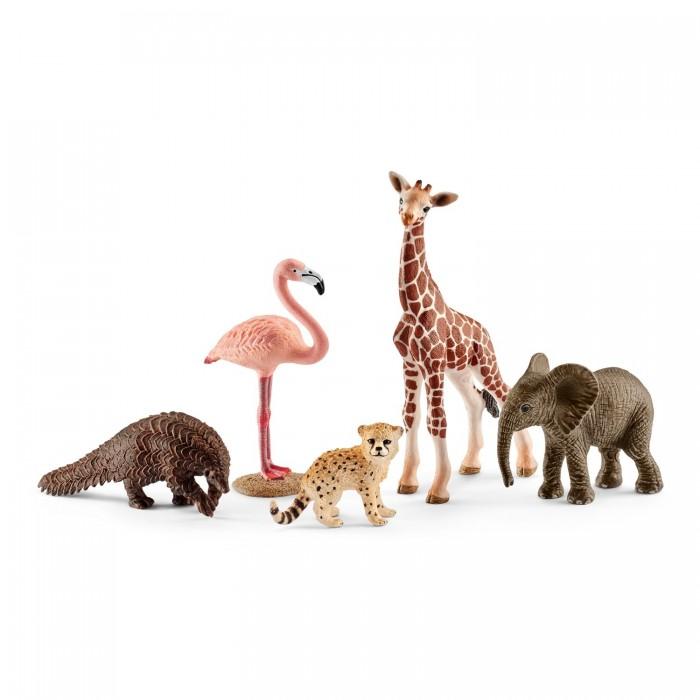 Игровые фигурки Schleich Набор фигурок Животные дикой природы schleich schleich кенгуру серия дикие животные
