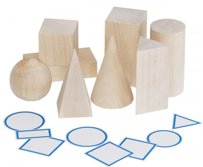 Игры для малышей Краснокамская игрушка Обучающий набор Геометрические тела набор краснокамская игрушка геометрические тела н 39