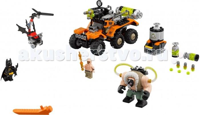 Lego Lego Batman Movie 70914 Химическая атака Бэйна lego горный внедорожник 70589