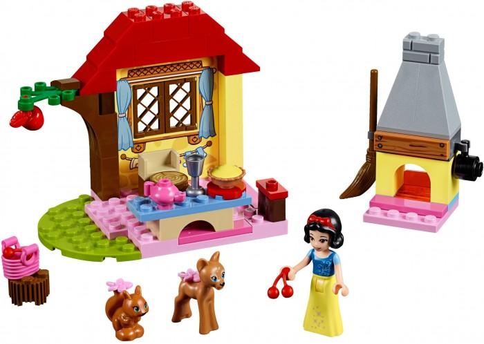 Lego Lego Juniors 10738 Лего Джуниорс Лесной домик Белоснежки lego juniors 10739 лего джуниорс ниндзяго нападение акулы